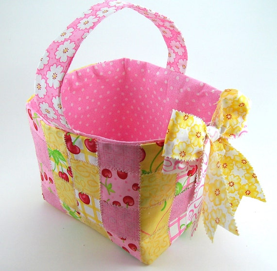 Huge Sale ... Woven Fabric Basket PDF Sewing Tutorial