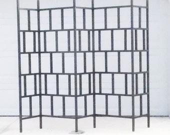 3 Panel and 5 Panel Traditional Pattern Aluminum Metal Garden Trellis Kit