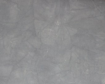 Hand-dyed 11 Ct, 14 Ct, 16 Ct, 18 Ct Aida Cloth, STORMY SKIES - Garibaldi's Needle Works - choose count & size