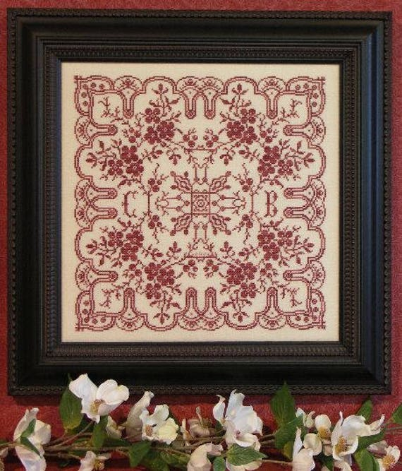 Dogwood Lace by Rosewood Manor S-1205 designs by Karen Kluba//Pamphlet