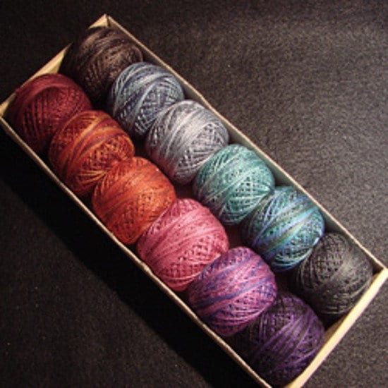 Mystic Twilight - taille 5, 8 Perle et 12 - Perle 8 Valdani coton- b98f0d