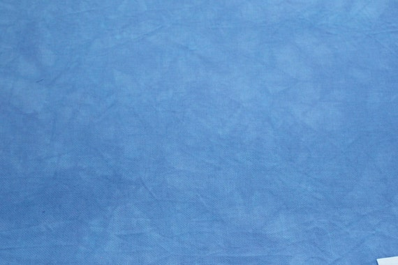 Hand-dyed 28 Ct Brittney/&32 Ct Murano Lugana//BABY BLUE//choose size /& fabric