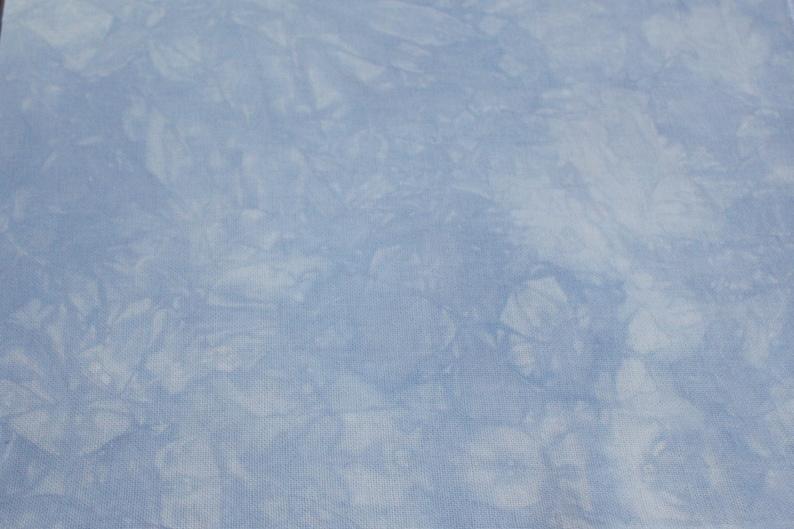 Hand-dyed Aida Cloth-Midnight Blue-11 Ct thru 18 Ct DMC cross-stitch fabric