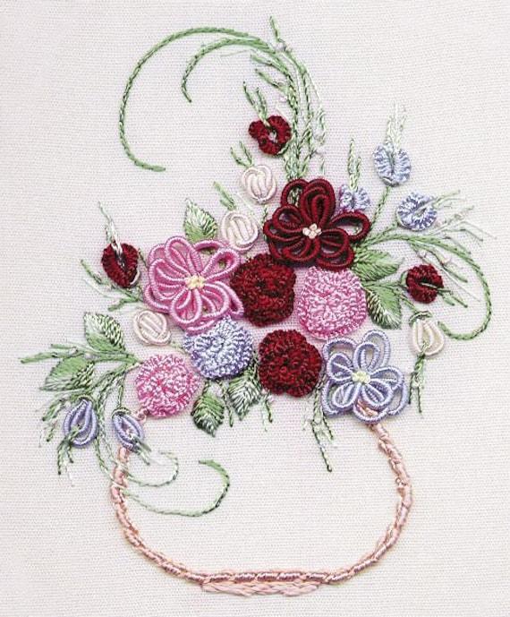 Primavera Brazilian embroidery kit #1601 w// book-EdMar threads//choose fabric