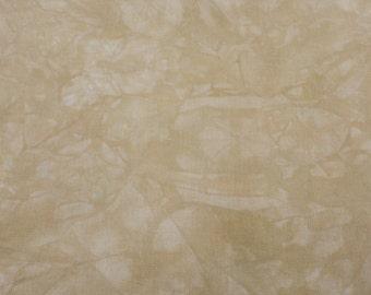 Hand-dyed 11 Ct, 14 Ct, 16 Ct, 18 Ct Aida Cloth, GOLDEN SUNFLOWER - Garibaldi's Needle Works - choose count & size/tan/brown/beige