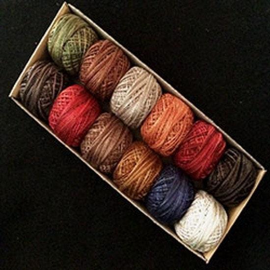 L'hiver par Notforgotten ferme - - - taille 8 et 12 - coton Valdani Pearl - Designer: Lori Brechlin 4ee274