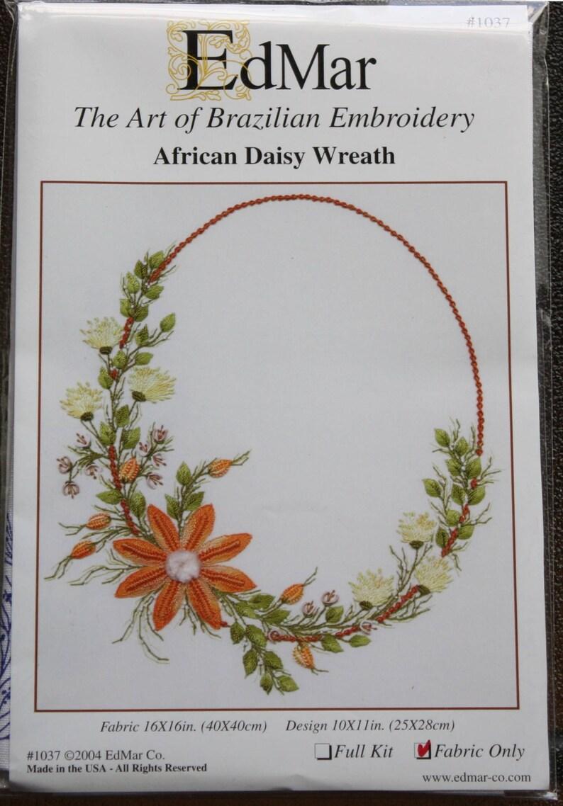 Couleur Daisy Tissu Couronne Filschoisir Daniel De African Motif1037 Fil Broderie Brésilienne Choisir NPX80nwOk