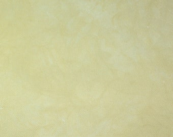 Hand-dyed 11 Ct, 14 Ct, 16 Ct, 18 Ct Aida Cloth, PINEAPPLE UPSIDEDOWN CAKE-Garibaldi's Needle Works-choose count & size/yellow/ivory