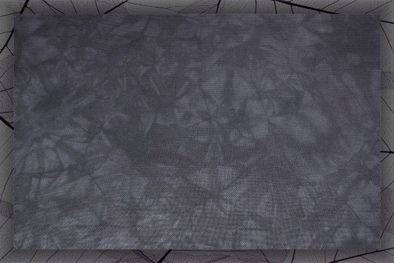 11 Count thru 22 Count Hand-dyed Zweigart Aida Cloth Blue Gray