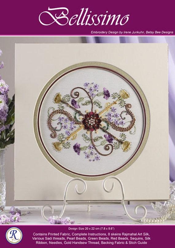 by Rajmahal Fantasia embroidery kit