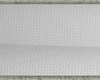 DMC/Charles Craft Aida Cloth - choose fabric Count and Size - WHITE, Brand New, 11 Count, 14 Count, 16 Count, 18 Count