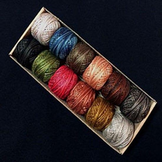 Le saule en laine Primmitives Collection - taille 8 - - Valdani coton perlé - - Designer: Jenifer Gaston a75bdc