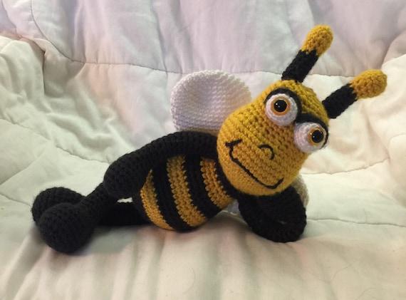 Amigurumi Bee Crochet Toy Beeplush Bee Crochet Animal Etsy