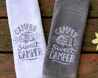 Camper Sweet Camper Kitchen Towel