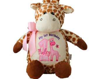 Giraffe Stuffed Animal Etsy
