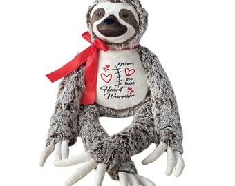 CHD Heart Warrior Bear, Heart Surgery Bear, Heart Awareness Bear, CHD Bear, Personalized Heart Warrior Bear, CHD Gift