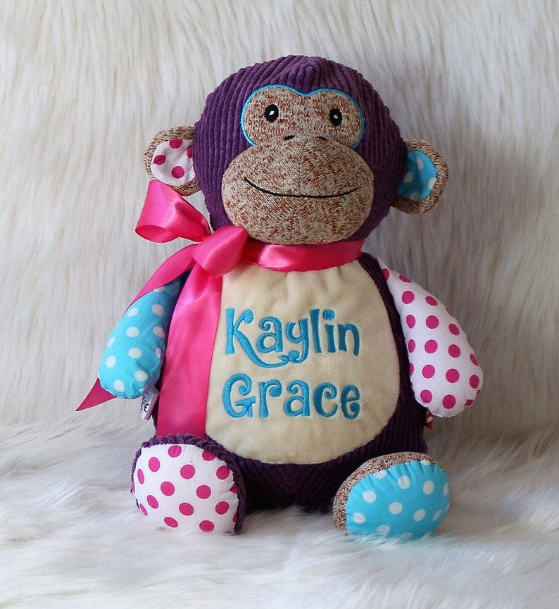 779615dd0d Personalized Baby Gift Stuffed Animal Personalized Stuffed | Etsy