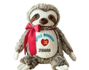 CHD Heart Warrior Bear, Heart Surgery Bear, Heart of a Warrior Bear, Heart Awareness Bear, CHD Hero Bear