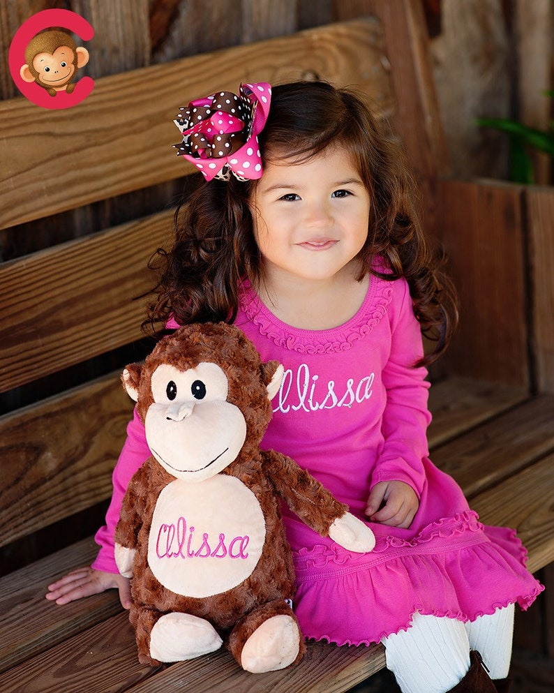 Personalized Baby Gift New Baby Birth Announcement Stuffed Bear Animal Keepsake Toy