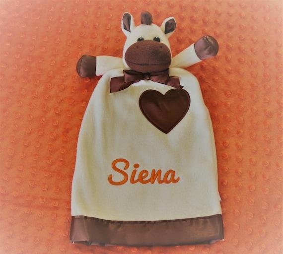 Lovie horse pony blanket custom personalized baby gift negle Gallery