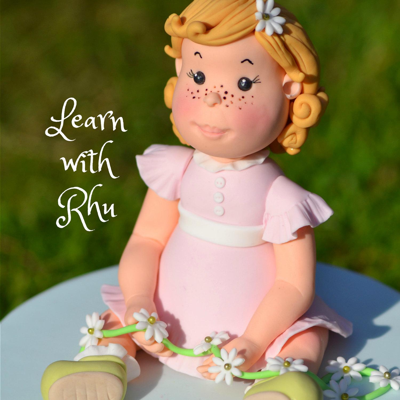 Little Girl Cake Topper Tutorial Easy To Follow