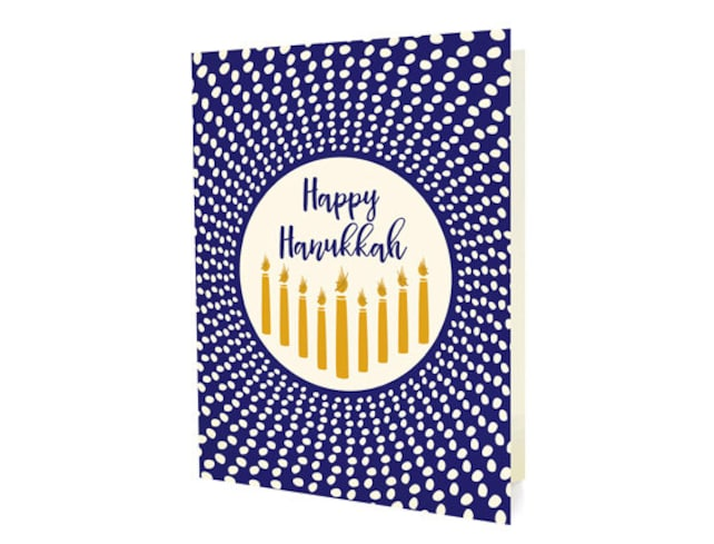 Radiant Hanukkah Cards, Box of 10 - Hanukkah Cards - Happy Hanukkah - OC1177-BX