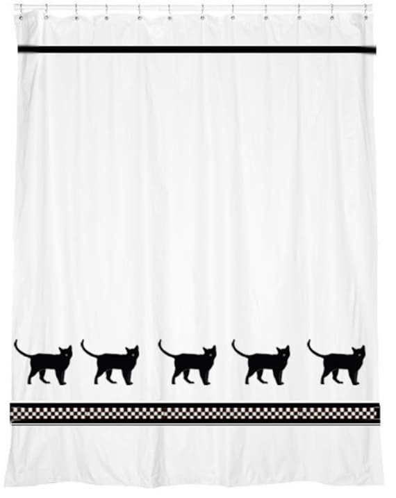 Burmese Cat Shower Curtain in Your Choice of Colors
