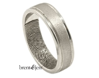 Custom Fingerprint Jewelry by Brent Jessica by fabuluster