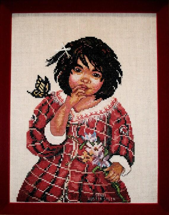 Native American Chart Counted Cross Stitch Pattern Needlework