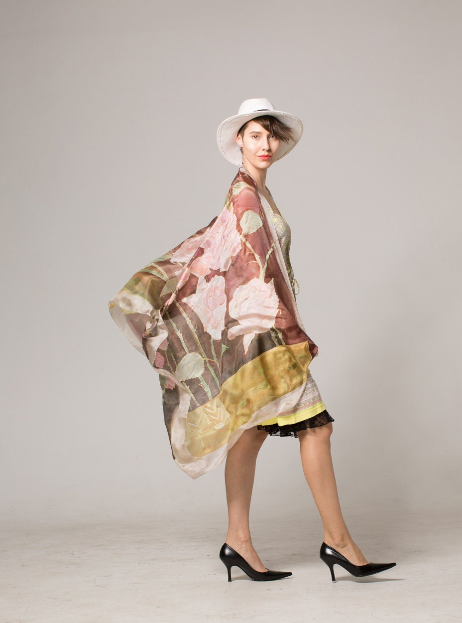 a439f36015e8 Silk Scarf- Ode for Roses