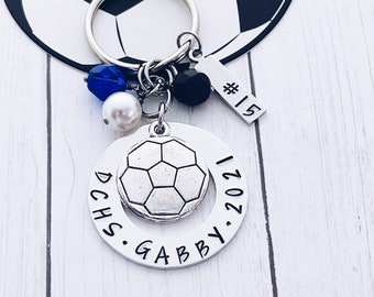 WUSUANED Inspirational Keychain Success is No Accident Soccer Charm Jewelry Motivational Gift for Football Fans Soccer Players
