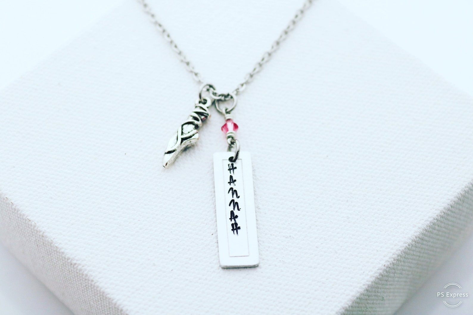ballet necklace/ ballet jewelry/ ballet necklace/ personalized ballet gift/ ballet dance gift/ ballet gifts/ pointe shoe charm/