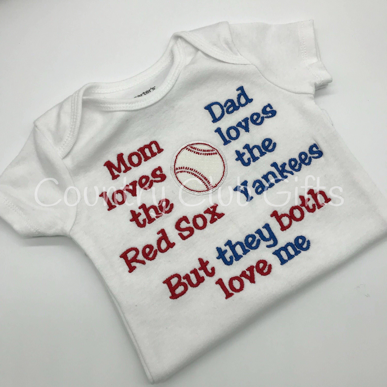 House Divided red sox Yankees t shirt baseball shirt