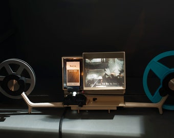 Baia Brite View Dual 8 movie view/editor for Super 8 and Regular 8mm films // tested works great