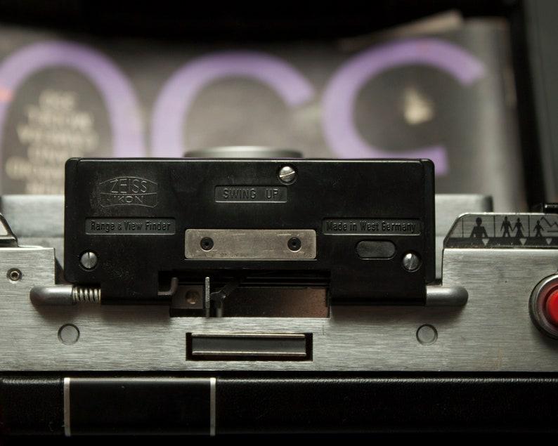 Carl Zeiss Entfernungsmesser : Polaroid land camera set w carl zeiss entfernungsmesser etsy