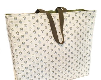 Sandy Days- Structured tote