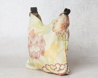 floral handbag, floral bag, vegan bag, evening handbag, fabric handbags, vegan hobo bag, womens handbags, canvas handbag, canvas hobo bag