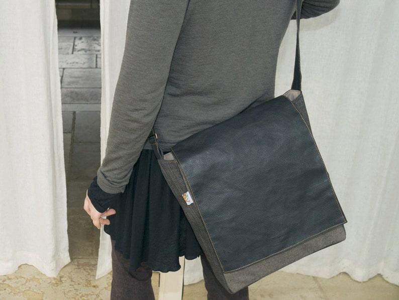 c3d4ff9382f7 Vegan Crossbody Bags Laptop Messenger Bags Mens Shoulder