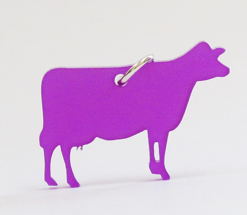 Colored cow necklaces image 0
