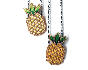 Necklaces - Pineapples - Light Yellow or Dark Yellow