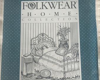 RARE Folkwear sewing pattern #302 - uncut - Sewing Pattern - Victoria's Boudoir - Folkwear Home