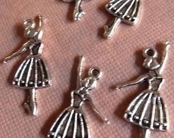 Silver Dancer Charm