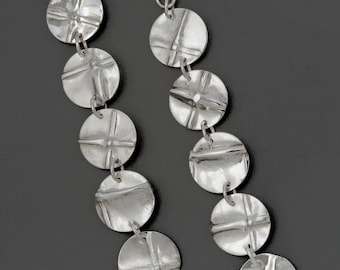 Funky  Fold Form Earrings