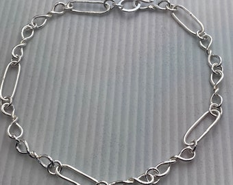 Trace Chain and Double Twisted Link Choker