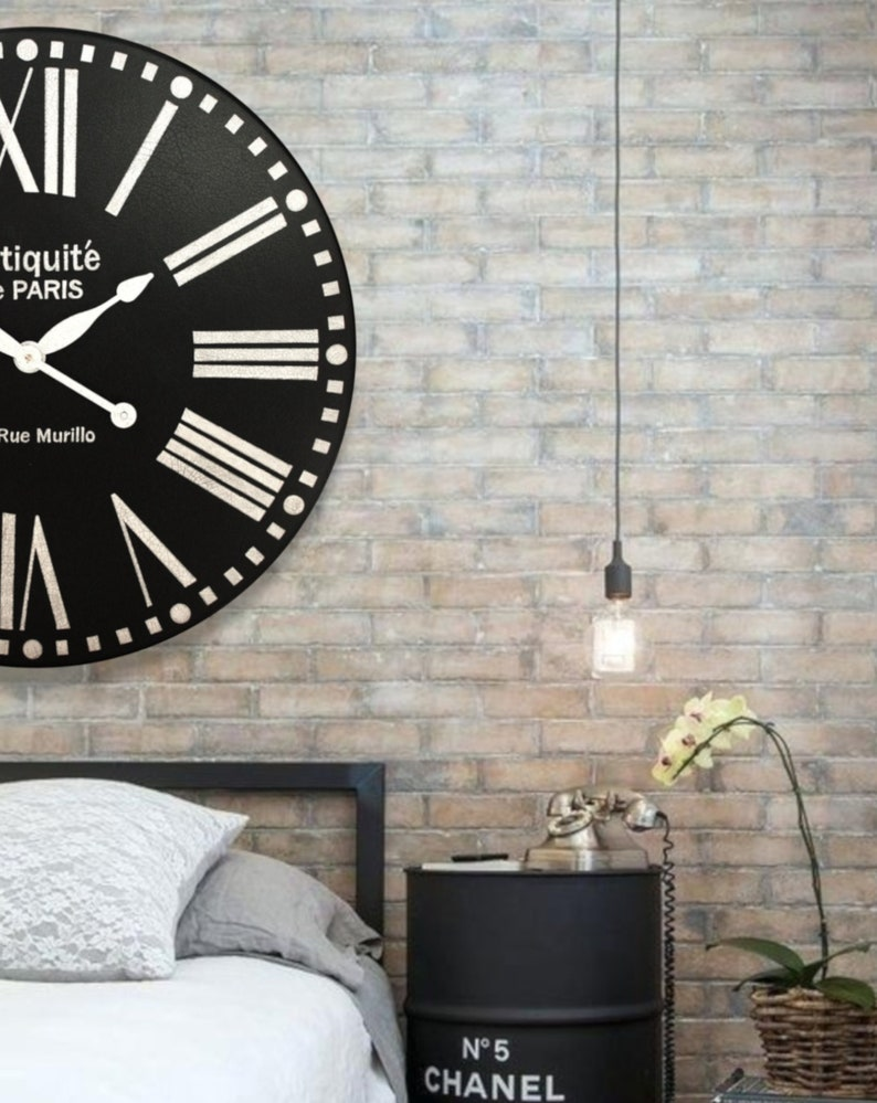 Wall Clocks For Home And Office, Custom And Hand Painted, Large Wall  Clocks, The Clock House, BOLD PARIS