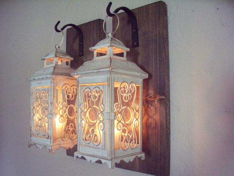 Coppia di lanterna a parete applique da parete arredamento etsy