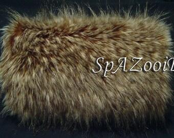 Hood Trim /& Handmuff Pram Mitts//Gloves Fit most models Luxury Faux Fur Pram