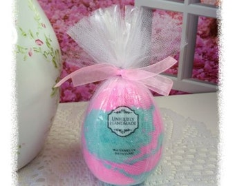 XL watermelon egg shaped Bath bomb