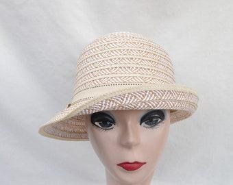 44e549241676a Cloche summer hat | Etsy
