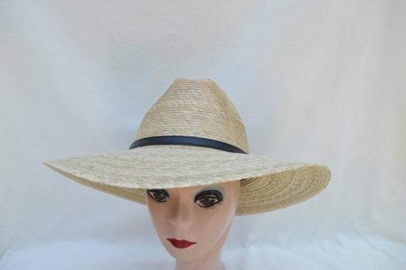 Light Palm Straw Larger Head Size Sun Hat   Women s XL And  8a0f39f57c